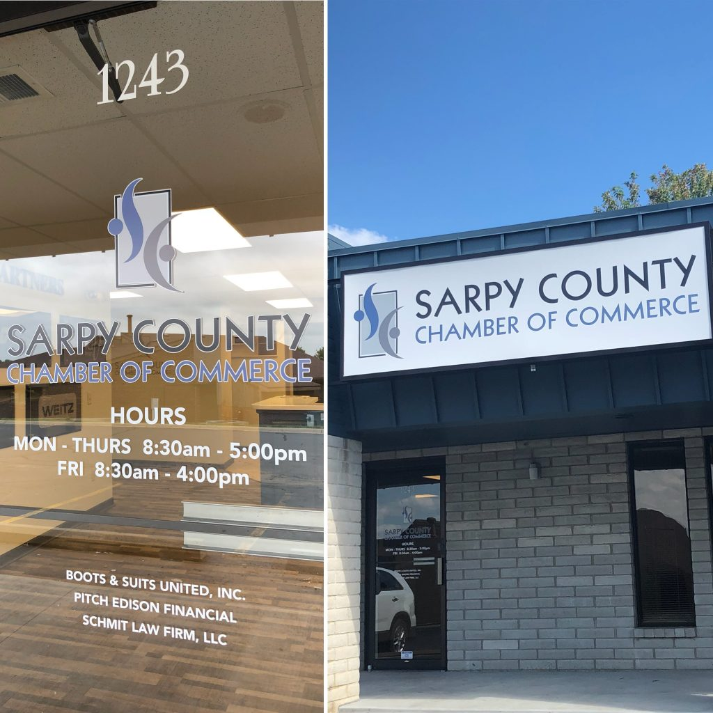 Sarpy County Chamber of Commerce building